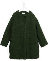 MonnaLisa bouclé knit coat - kids - Acrylic/Polyester/Wool - 8 yrs