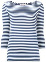 The Seafarer - striped knitted T-shirt - women - Cotton - S