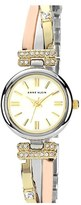 AK Anne Klein Anne Klein Round Bangle Watch
