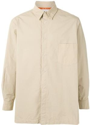 Fumito Ganryu Plain Button Shirt