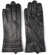 Journee Collection Women's Studded Leather Gloves