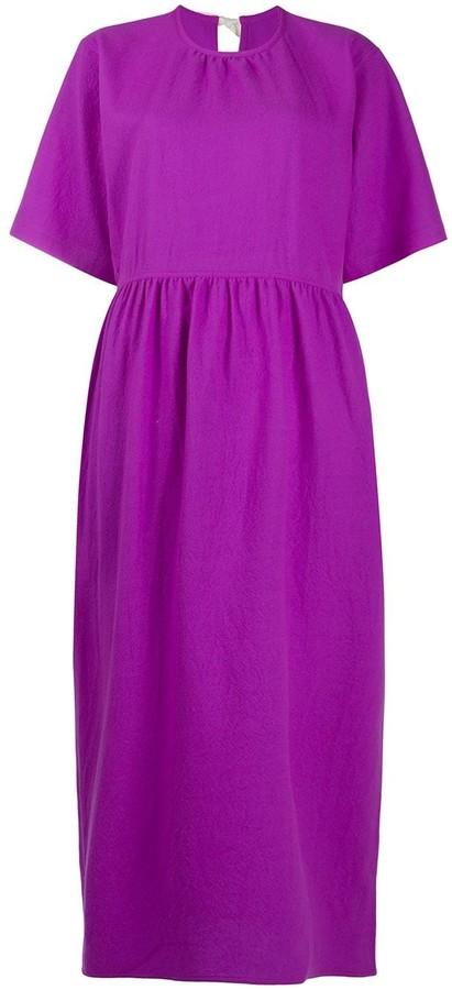 Sofie D'hoore Short-Sleeve Midi Dress