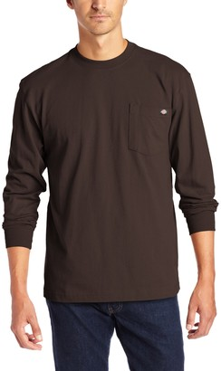 Dickies Men's Big-Tall Long Sleeve Heavyweight Crew Neck