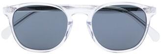 One, All, Every X RVS Sustain X Ugo Rondinone Panto round frame sunglasses