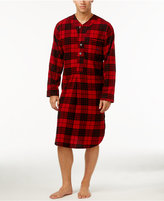 Polo Ralph Lauren Men's Plaid Flannel Pajama Nightshirt