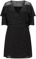 Fashion Union Curve Polka Dot Wrap Dress