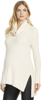 Motherhood Jessica Simpson Slit Maternity Tunic