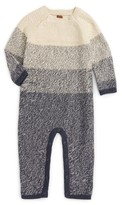 Tea Collection Infant Boy's Ohara Sweater Romper
