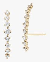 Sophie Ratner Silhouette Diamond Climber Earrings