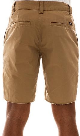 Brixton The Toil Shorts in Khaki