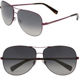 'Didi' Metal Aviator Sunglasses