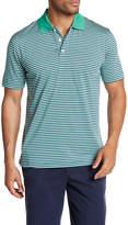 Brooks Brothers Mini Stripe Golf Polo Shirt