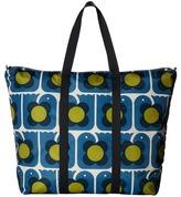 Orla Kiely Love Birds Print Foldaway Travel Bag Bags