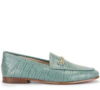 Sam Edelman Lorain croc embossed loafers