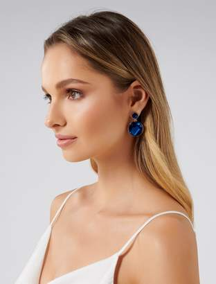 Ever New Piper Double Resin Discs Drop Earrings