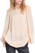 Plenty by Tracy Reese Jewelneck Peasant Top