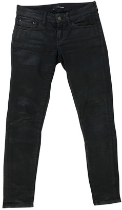 The Kooples Black Cotton Jeans for Women
