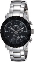 Versus By Versace Men's SOH020015 Madison Bracelet Watch with Black Dial