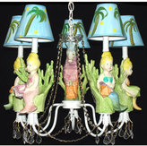 Molly the Mermaid Chandelier