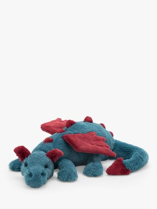 Jellycat Dexter The Dragon Soft Toy, Large