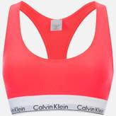 Calvin Klein Women's Modern Cotton Bralette - Bright Nectar