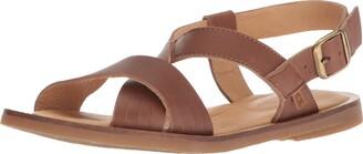 El Naturalista Women's N5181 Dolce Cuero/Tulip Flat Sandal 36 Medium EU (6 US)
