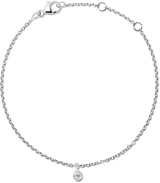 De Beers 18kt white gold My First one diamond bracelet