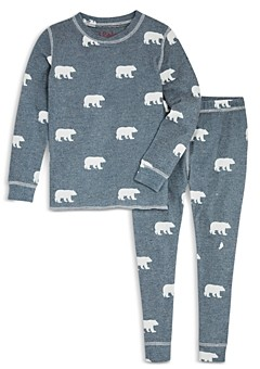 PJ Salvage Unisex Snug Fit Bear Pajamas