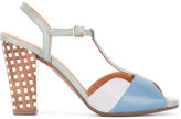 Chie Mihara T-bar sandals - women - Leather/rubber - 36.5