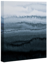 DENY Designs Within the Tides Stormy Weather Grey by Monika Strigel (Canvas)