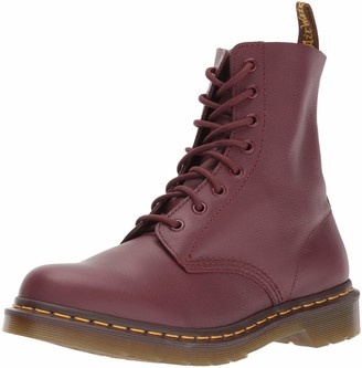 Dr. Martens Unisex Adults Pascal Classic Boots Red (Cherry Red) 3 UK