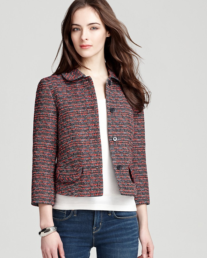 Marc by Marc Jacobs Jacket - Miranda Tweed