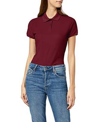 Fruit of the Loom Women's 65/35 Lady-Fit Polo Shirt,XS (Manufacturer Size: XS)