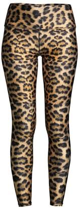 Terez Leopard Goals High-Rise Leggings