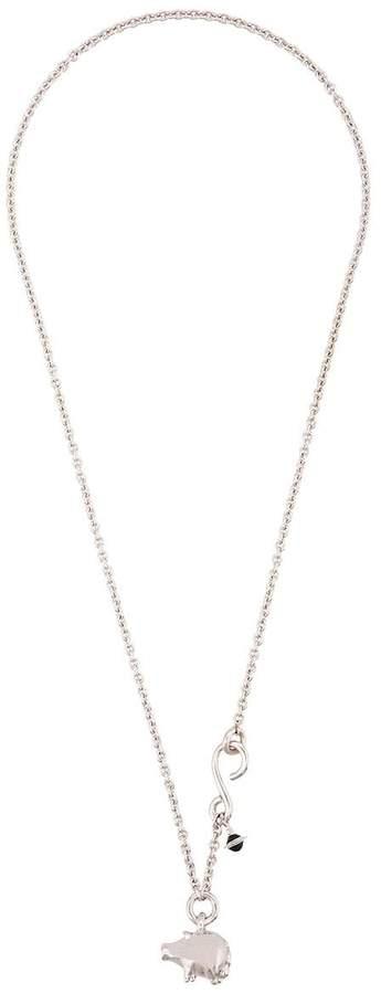 Vivienne Westwood Pig pendant necklace