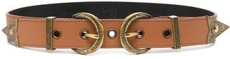 Versace Jeans Couture Double-Buckle Belt