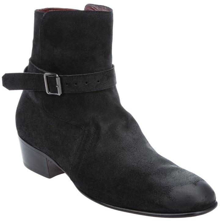 Jean-Michel Cazabat Buckle fastening boot