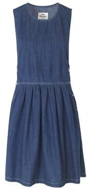Mads Norgaard Dalia Dress Vintage Wash - Size 8
