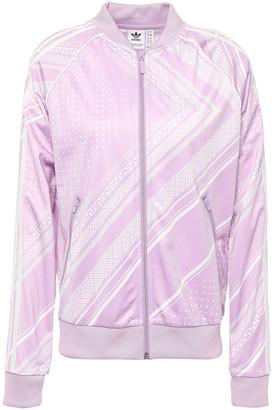 adidas Printed Tech-jersey Track Jacket
