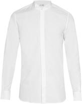 Saint Laurent Wingtip-collar cotton-poplin shirt