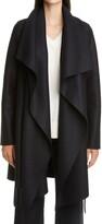 Thumbnail for your product : Harris Wharf London Draped Wool Coat