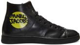 Marc Jacobs Black Logo High-Top Sneakers