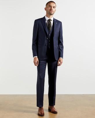 Ted Baker Debonair Twill Wool Trousers