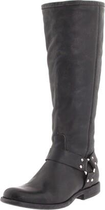 Frye Women's Phillip Harness Tall medium calf Boot