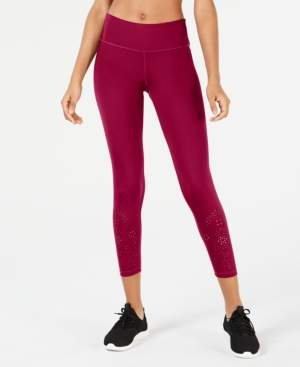 Ideology Perforated Ankle Leggings, Created for Macy's