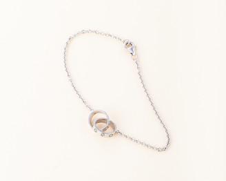 Cartier Rolo Chain White Gold Love Bracelet