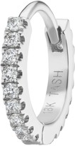 Maria Tash 6.5mm White Gold and Diamond Eternity Ring