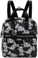 Radley Folk Dog Medium Zip Top Backpack - Black