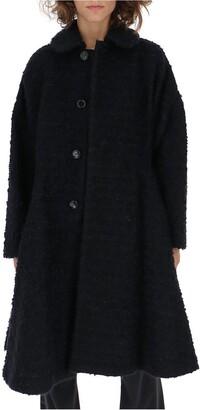 Comme des Garçons Comme des Garçons Classic Collar Flared Button Coat