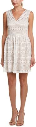 BCBGMAXAZRIA Lace A-Line Dress